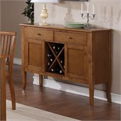 Steve Silver Company Candice Server in Oak