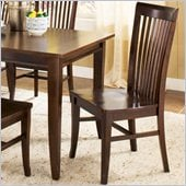 Steve Silver Company Angel Side Dining Chair in Espresso