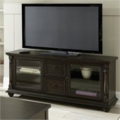 Steve Silver Company Leona Classic TV Cabinet in Dark Hand Rubbed Finish