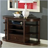 Steve Silver Company Crestview Sofa Table in Espresso Finish