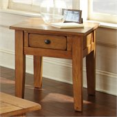 Steve Silver Company Liberty End Table in Oak Finish