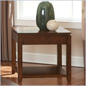 Steve Silver Company Bolivar End Table in Multi-Step Cherry Finish