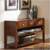 Steve Silver Company Bolivar Sofa Table in Multi-Step Cherry Finish