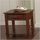 Steve Silver Company Mason End Table in Cherry