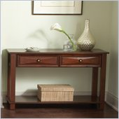 Steve Silver Company Mason Sofa Table in Cherry