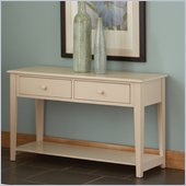 Steve Silver Company Eva Sofa Table in Multi-Step White Finish