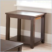 Steve Silver Company Cody End Table in Espresso Finish