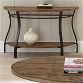 Steve Silver Company Denise Sofa Table in Light Oak Finish