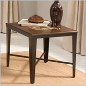 Steve Silver Company Emeril End Table with Glass Tile Inlay Top