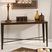 Steve Silver Company Emeril Sofa Table with Glass Tile Inlay Top