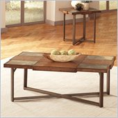 Steve Silver Company Winchester Cocktail Table in Elm Veneer Finish