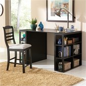 Steve Silver Company Bradford Writing Desk in Rich Multi-Step Black