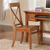 Steve Silver Company Oslo Side Chair in Oak
