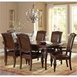 Antoinette 7 Piece Leg Dining Table Set in Cherry
