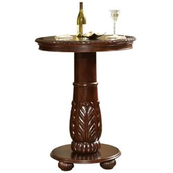 Steve Silver Company Antoinette Pub Table in Lush Cherry