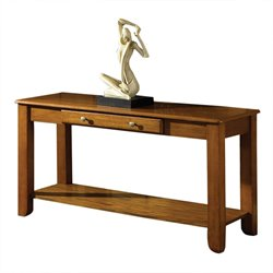 Steve Silver Nelson Console Table in Oak