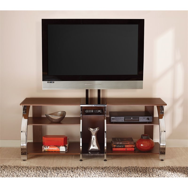Steve Silver Layla TV Console with Mounting Bracket in Cherry