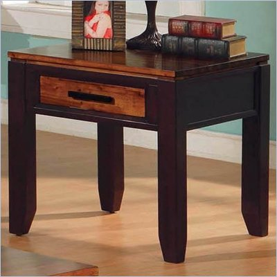 Steve Silver Company Abaco End Table in Espresso