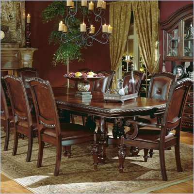 Steve Silver Company Antoniette 7 Piece Dining Set (Free Chair Included)