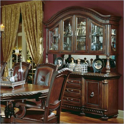 Steve Silver Company Antoniette Buffet and Hutch
