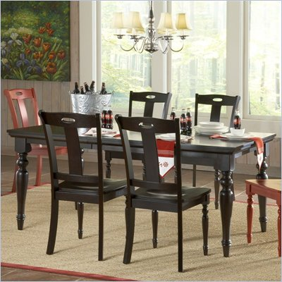 Steve Silver Company Barbados Casual Dining Table in Chocolate Finish
