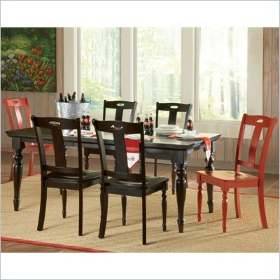 Steve Silver Company Barbados 7 Piece Dining Set in Chocolate