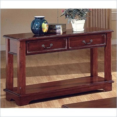 Steve Silver Company Barrington Warm Cherry Sofa Table
