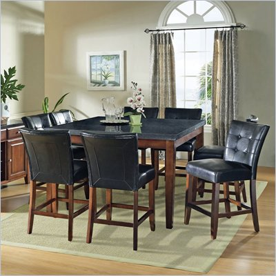 Steve Silver Company Bello 7 Piece Counter Height Dining Set (Free Chair Included)