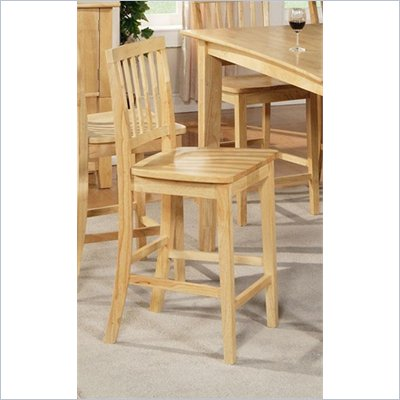 Steve Silver Company Branson Counter Chair in Natural