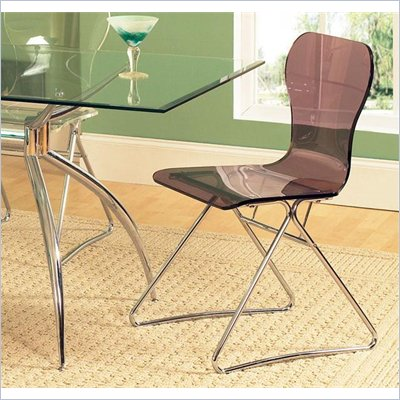 Steve Silver Company Carnival Side Chair in Black