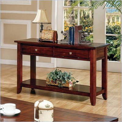 Steve Silver Company Charleston Dark Cherry Sofa Table