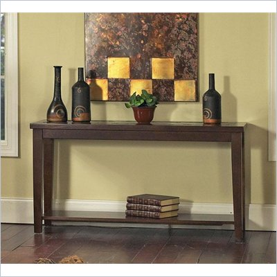 Steve Silver Company Davenport Slate Sofa Table