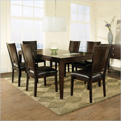 Steve Silver Company Ice 7 Piece Dining Set
