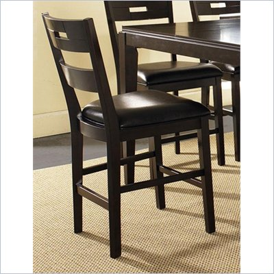 Steve Silver Company Ice Ladder Back Counter Chair