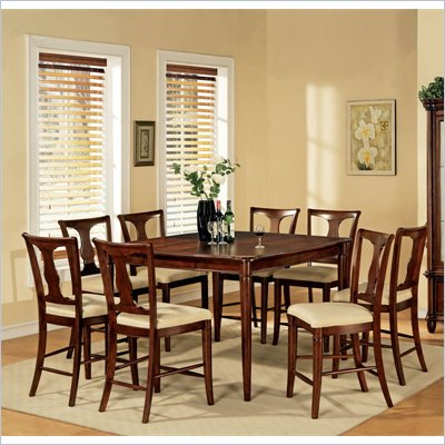 Steve Silver Company Kennedy 7 Piece Counter Height Dining Set (Free Chair Included)