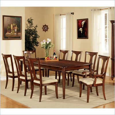 Steve Silver Company Kennedy 7 Piece Dining Set (Free Chair Included)