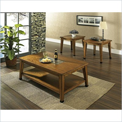 Steve Silver Company Legacy 3 Piece Coffee Table Set
