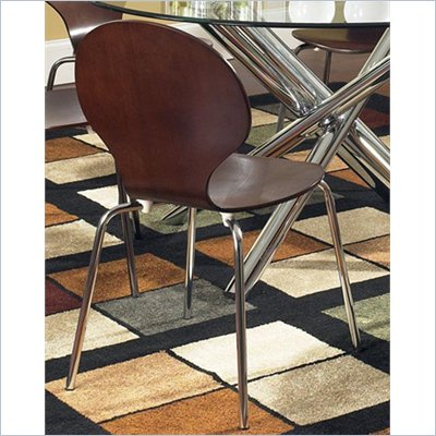 Steve Silver Company Lexie Side Chair in Espresso