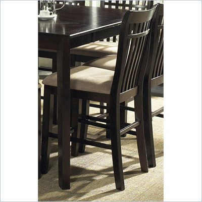 Steve Silver Company Lexington Counter Chair in Espresso