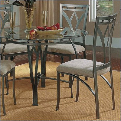 Steve Silver Company Madrid Fabric Dining Side Chair