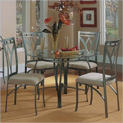 Steve Silver Company Madrid 5-Piece Dining Table Set