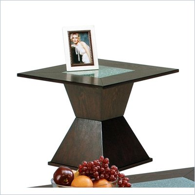 Steve Silver Company Malcolm 24 Inch Square End Table