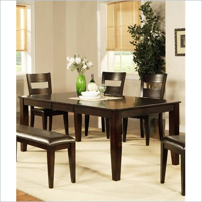 Steve Silver Company Mango Table with 18 Inch Butterfly Leaf