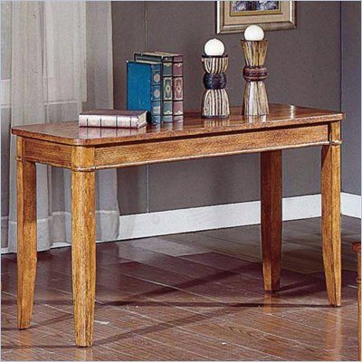 Steve Silver Company Manor Light Oak Sofa Table