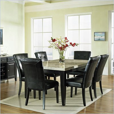 Steve Silver Company Monarch 7 Piece Dining Set (Free Chair Included)