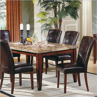 Steve Silver Company Montibello 5 Piece Dining Set (Free Chair Included)