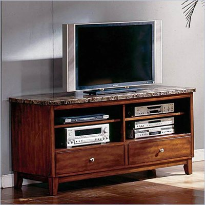 Steve Silver Company Montibello Marble TV Stand