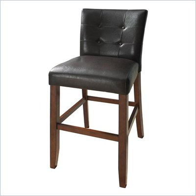 Steve Silver Company Montibello Bar Chair in Dark Brown