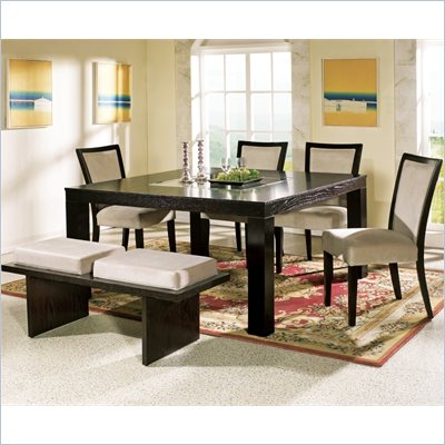 Steve Silver Company Movado 7 Piece Dining Set (Free Chair Included)