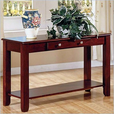 Steve Silver Company Nelson Sofa Table in Cherry or Oak